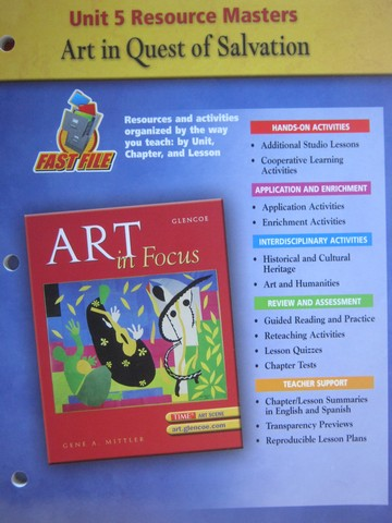 Art in Focus Unit 5 Resource Masters (P)