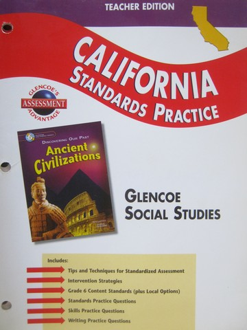 Ancient Civilizations California Standards Practice TE (TE)(P)