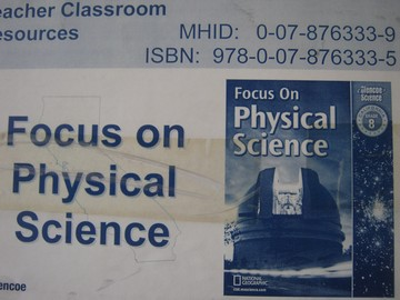 Focus on Physical Science TCR (CA)(TE)(PK) [0078763339] - $184 95