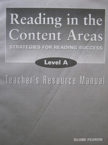 Reading in the Content Areas Level A TRM (TE)(P) by Kinsella