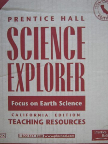 Focus on Earth Science TRP (CA)(TE)(Pk)