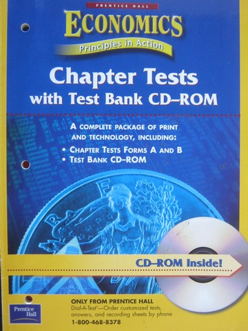 Economics Principles in Action Chapter Tests with Test Bank (P)