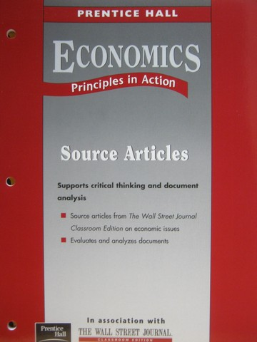 Economics Principles in Action Source Articles (P)