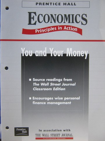 Economics Principles in Action You & Your Money (P)