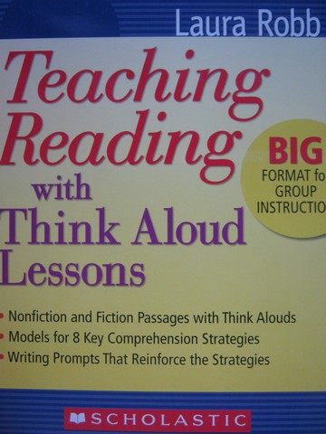 Teaching Reading with Think Aloud Lessons (Spiral)(Big) by Robb
