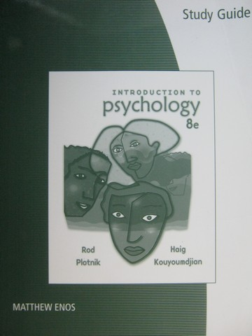 Introduction to Psychology 8th Edition Study Guide (P) by Enos