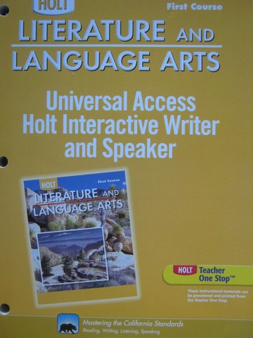 Interactive Writer & Speaker 1st Course (CA)(P)