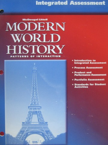 Modern World History Integrated Assessment (P)