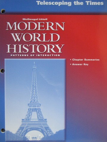 Modern World History Telescoping the Times (P)