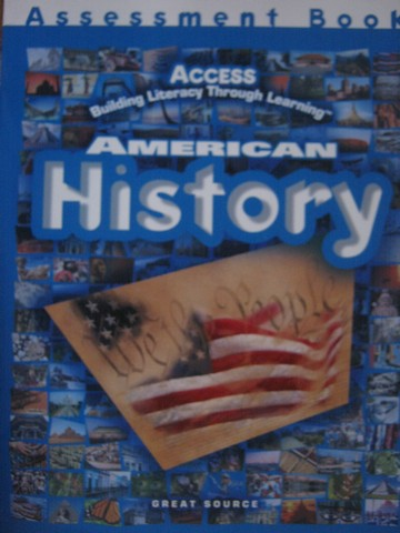 Access American History Assessment Book (P) by Priestley
