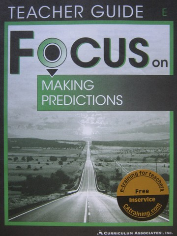 Focus on Making Predictions E TG (TE)(P)