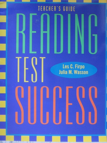 Reading Test Success TG (TE)(P) by Firpo & Wasson