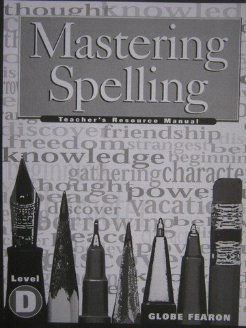 Mastering Spelling Level D TRM (TE)(P) by Eleanor Ripp