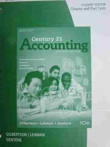 Century 21 Accounting 10th Edition Chapter & Part Tests (P)