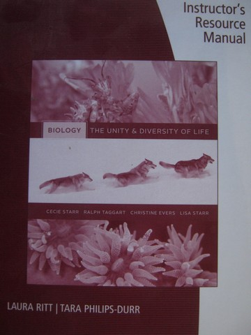 Biology The Unity & Diversity of Life Instructor's Resource (P)