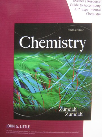 Chemistry 9th Edition Teacher's Resource Guide (TE)(P) by Little