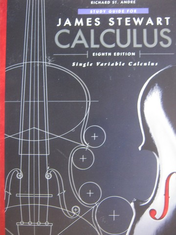 Calculus Single Variable Calculus 8th Edition Study Guide (P)
