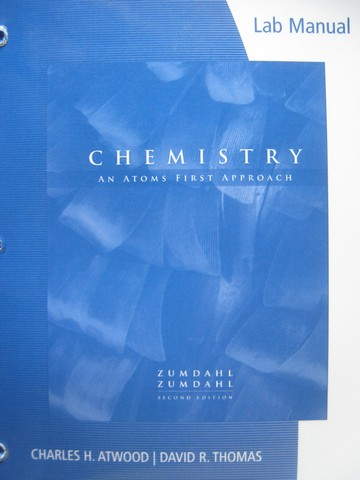 Chemistry An Atoms First Approach 2nd Edition Lab Manual (P)
