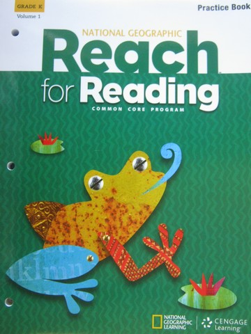 Reach for Reading Common Core K Practice Book Volume 1 (P)
