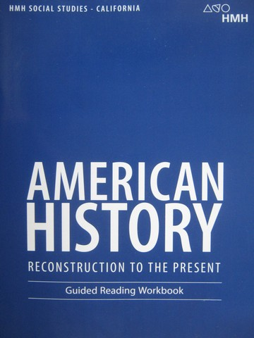 American History Guided Reading Workbook (CA)(P)