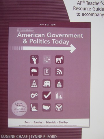 American Government & Politics Today AP Edition TRG (TE)(P)