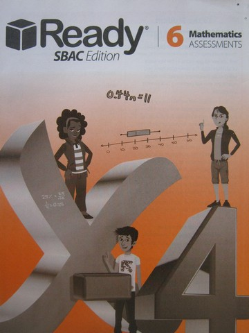 Ready SBAC Edition 6 Mathematics Assessments (P)