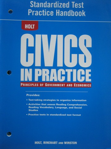 Civics in Practice Standardized Test Practice Handbook (P)