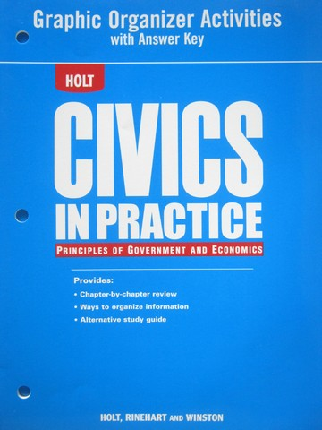 Civics in Practice Graphic Organizer Activities with Answer (P)
