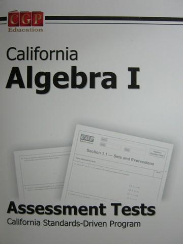 cgp education k 12 quality used textbooks textbooks workbooks rh textbooknbeyond com Algebraic Solution Algebra 1 Rox's