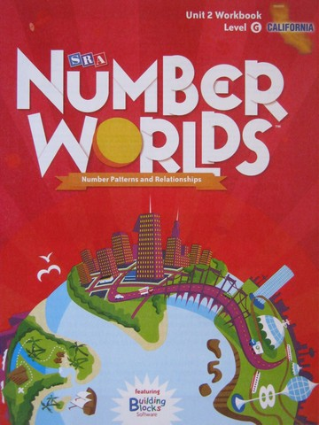 Number Worlds G Unit 2 Workbook California Edition (CA)(P)