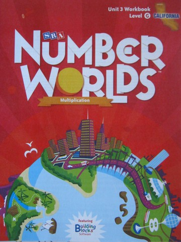 Number Worlds G Unit 3 Workbook California Edition (CA)(P)