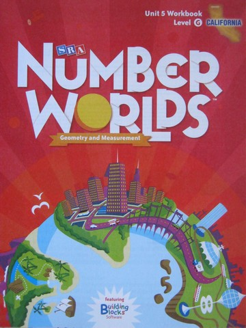 Number Worlds G Unit 5 Workbook California Edition (CA)(P)