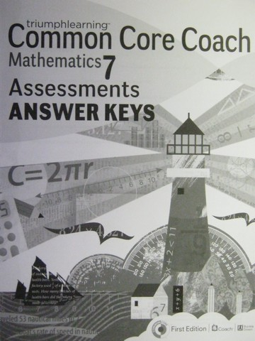 Common Core Coach Mathematics 7 Assessments Answer Keys (P)