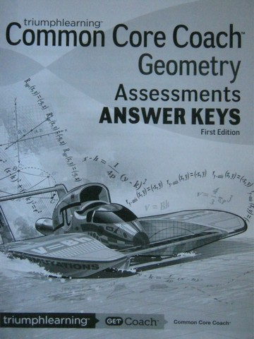 Common Core Coach Geometry Assessments Answer Keys (P)