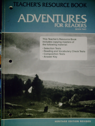 Adventures for Readers Book 2 Revised Heritage Edition (TE)(P)