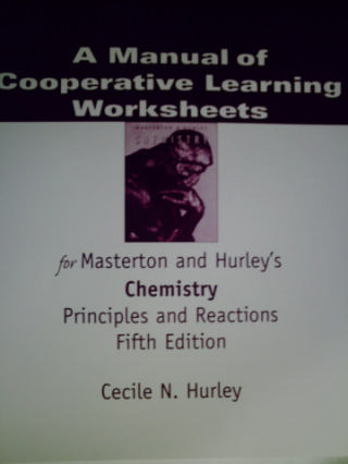 Chemistry Principles & Reactions 5e Cooperative Learning WS M(P)