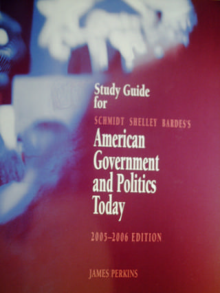 American Government & Politics Today 2005-2006 Study Guide (P)