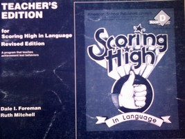 Scoring High in Language Book D Revised TE (TE)(P) by Foreman
