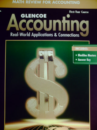 Accounting 1st-Year Course 5e Math Review for Accounting (P)