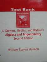 Algebra & Trigonometry 2nd Edition Test Bank (P) by Harmon