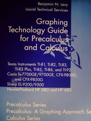 Graphing Technology Guide for Precalculus & Calculus (P)