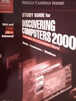Discovering Computers 2000 Study Guide (P) by Shelly, Cashman,