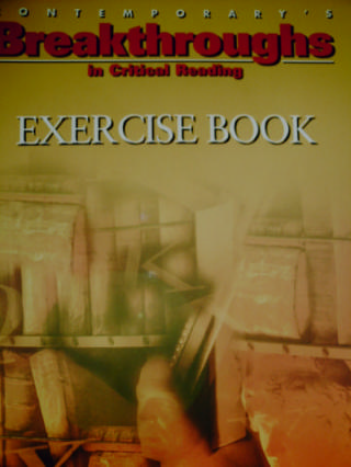 Breakthroughs in Critical Reading Exercise Book (P)