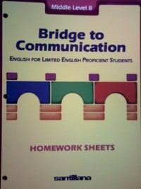Bridge to Communication Middle B Homework Sheets (P)