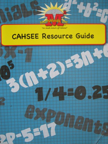 CAHSEE Resource Guide (Spiral)