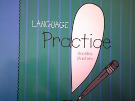 Language! Practice Blackline Masters (Binder) by Woods