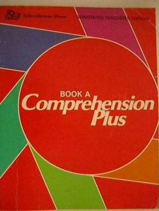 Comprehension Plus Book A ATE (TE)(P) by Flood & Lapp