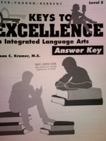 Keys to Excellence in Integrated Language Arts E Answer Key (P)