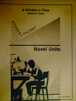 Novel Units A Wrinkle in Time Student Packet (Pk) by Levine,