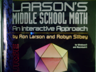 Larson's Middle School Math An Interactive Approach Course 3(CD)